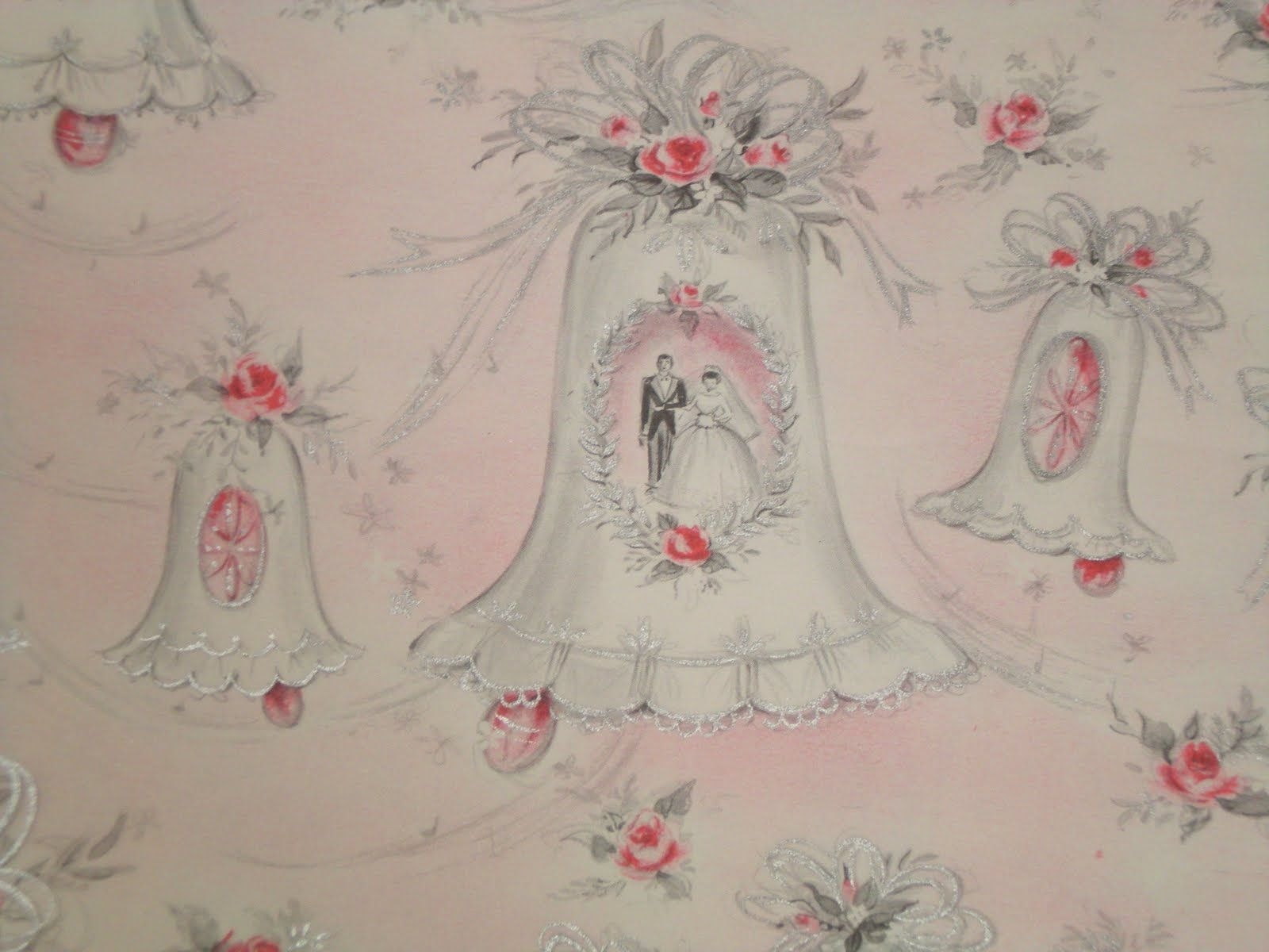 Vintage Wrapping Paper - Kluless A New Love  Vintage