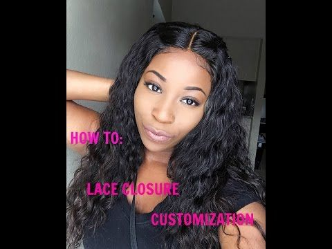 How To Make A Upart Wig With Lace Closure With Beauty Forever Hair Youtube Aliexpress Hair U Part Wig Wigs