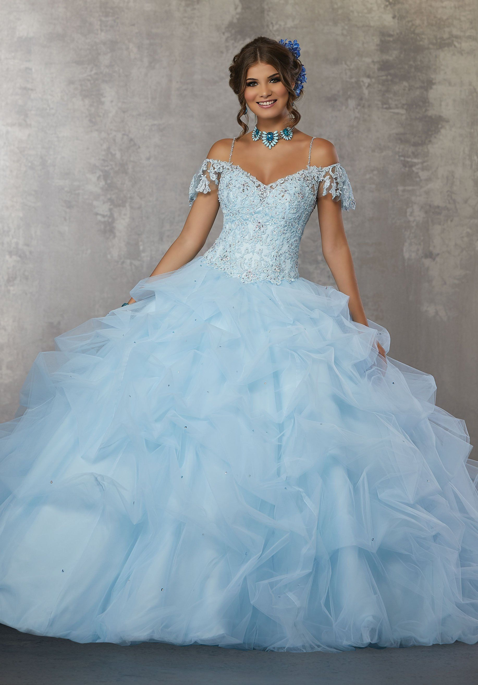 8a2ebe2c9fb Quinceanera Dress 60034 Valencia Collection - QuinceDresses.com.  fashion   style  outfit  womensfashion  clothes  womensstyle  fashionillustration ...