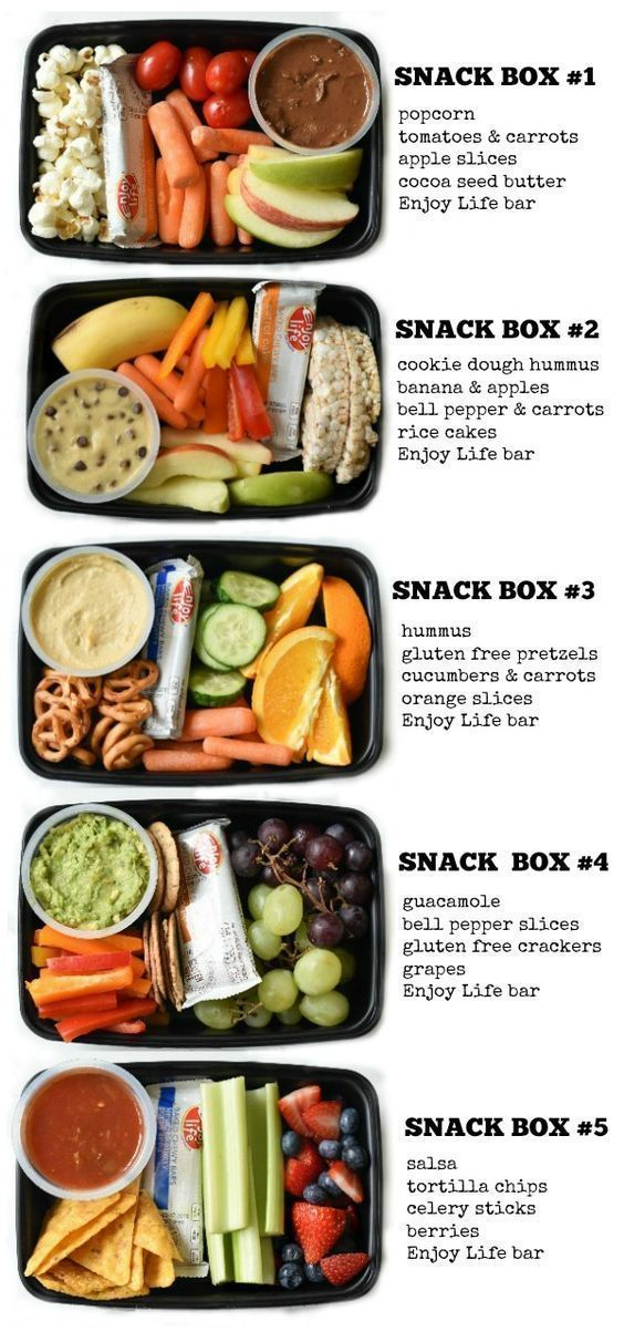 Photo of Kids Snack Bento Boxes – Fork and Beans