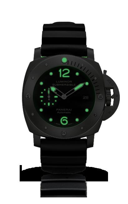LUMINOR SUBMERSIBLE 1950 3 DAYS AUTOMATIC TITANIO PAM00571 - 系列 2014 - 腕錶 Officine Panerai