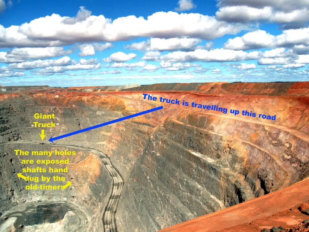 australien fimiston open pit - Google-Suche