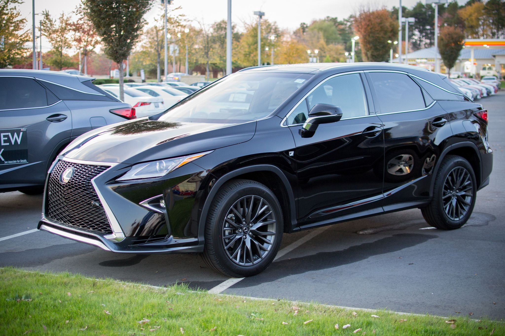 2016 LexusRX 350 FSport finished in Obsidian. (With