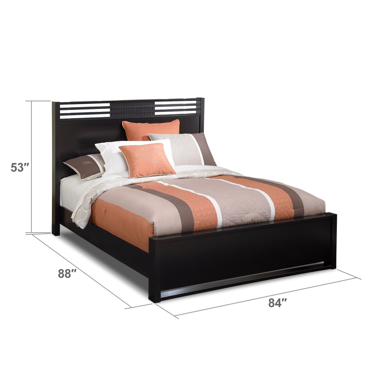 Bally Espresso King Bed   Value City Furniture   Bedroom   Pinterest ...