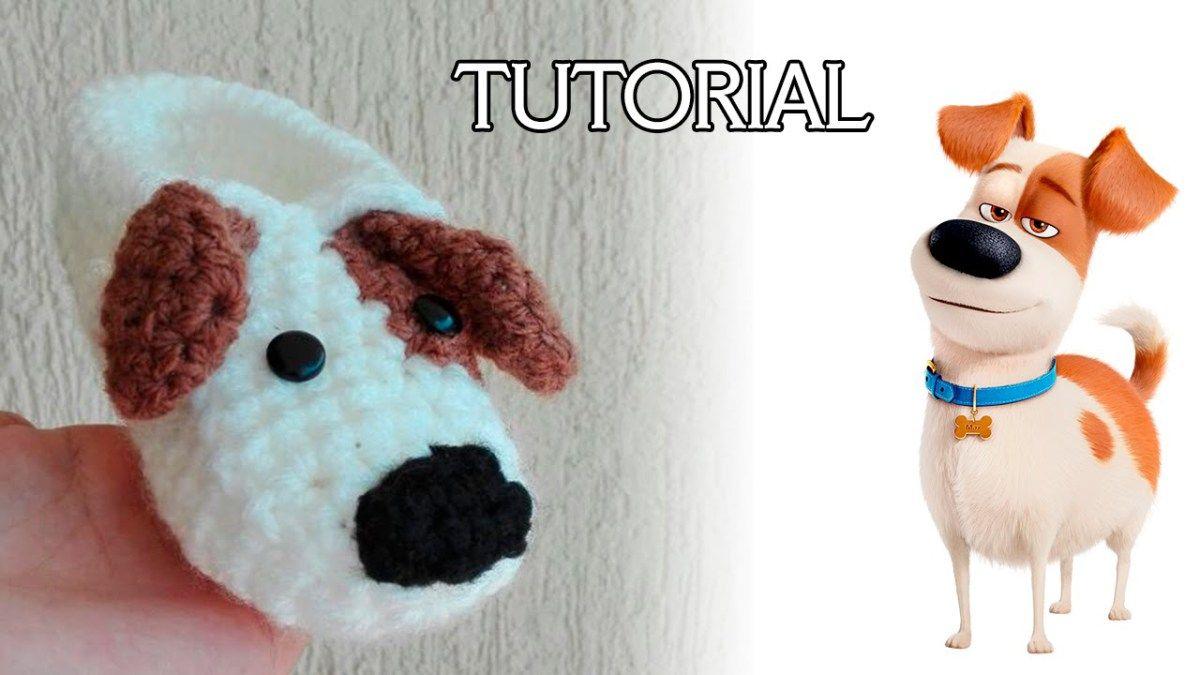 Tutorial pantufla de perrito a crochet | Peluca | Pinterest ...