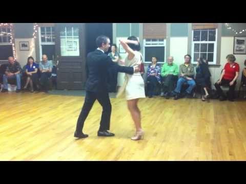 Peter Flahiff Lorraine O Neal Lindy Hop And Balboa Teacher S Demo Lindy Hop Swing Dance Balboa