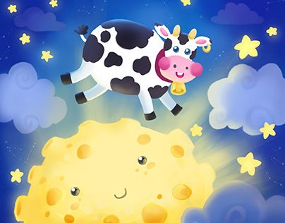 """check out new work on my behance profile """"the cow jumped"""