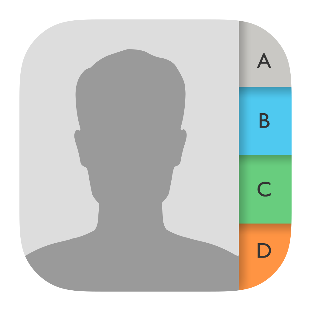 Contacts Icon Png Image Icon App Logo Application Iphone