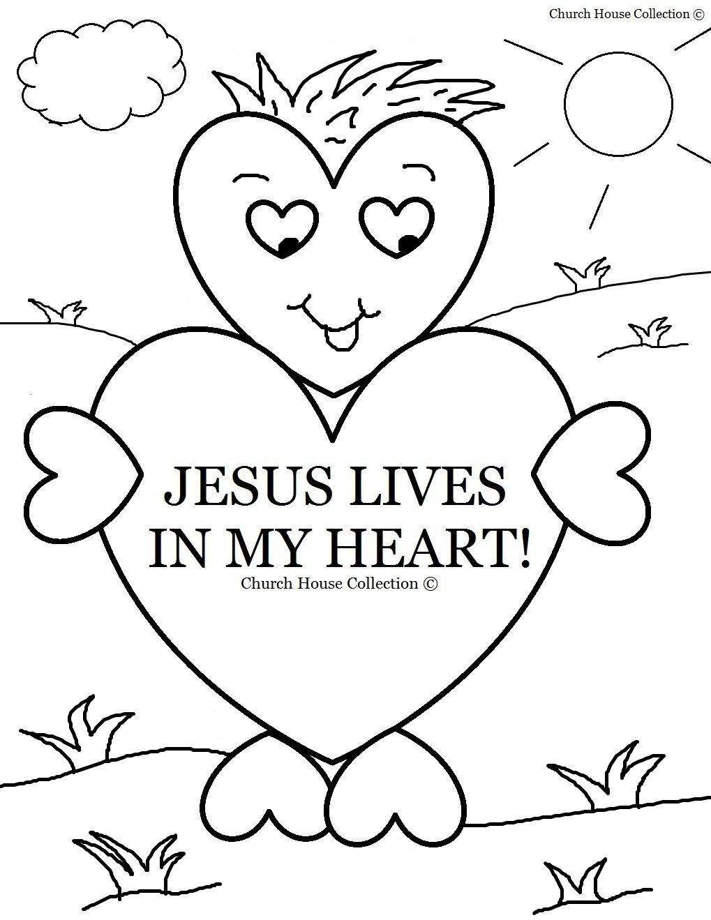 Church Coloring Pages For Kids Sunday School Coloring Pages In 2020 Sunday School Coloring Pages Sunday School Valentines Valentines Day Coloring Page