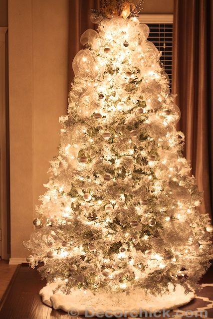 real white christmas tree
