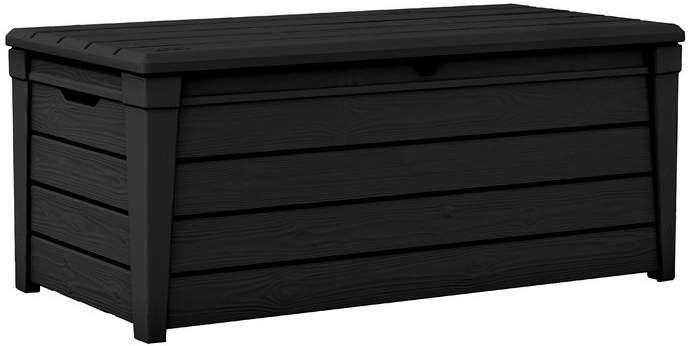 Keter Brightwood 120 Gallon Resin Deck Box Tarolo Lakberendezes