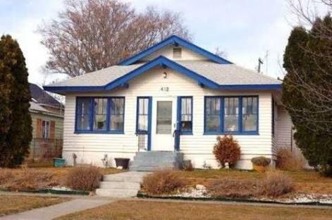white house blue trim - Google Search