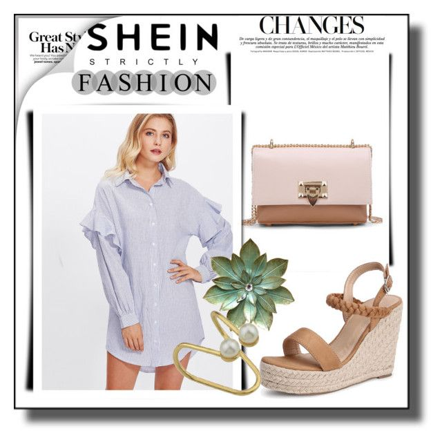 """shein 1/XI"" by amina-haskic ❤ liked on Polyvore"
