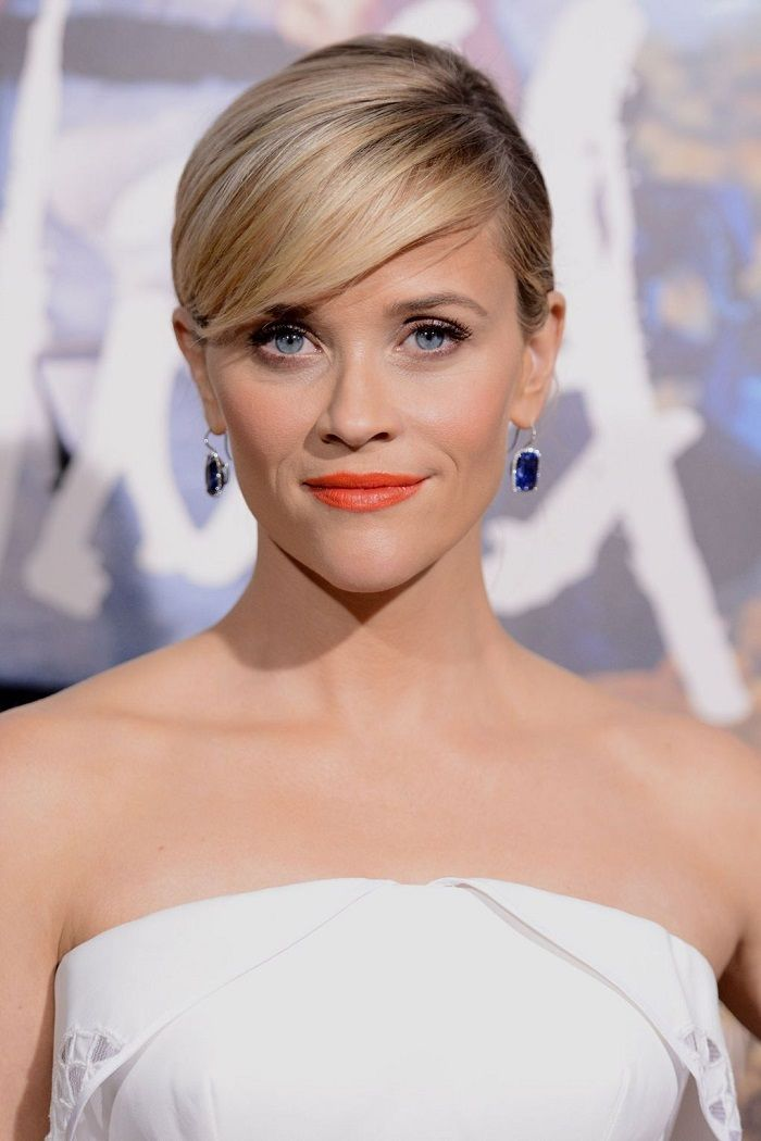 Reese Witherspoon Updo Hairstyles Hair Color Ideas And Styles For 2018