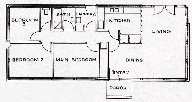 Pettit Sevitt Gambrel Plan Gambrel How To Plan Main Bedroom
