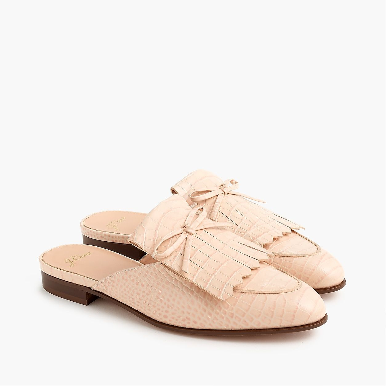 ac1644aa775 Kiltie Academy Penny Loafer Mules