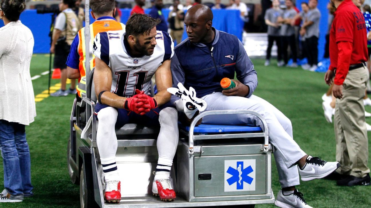 Julian Edelman Determined In His Rehab From Torn Acl Knee Injury New England Patriots Julian Edelman