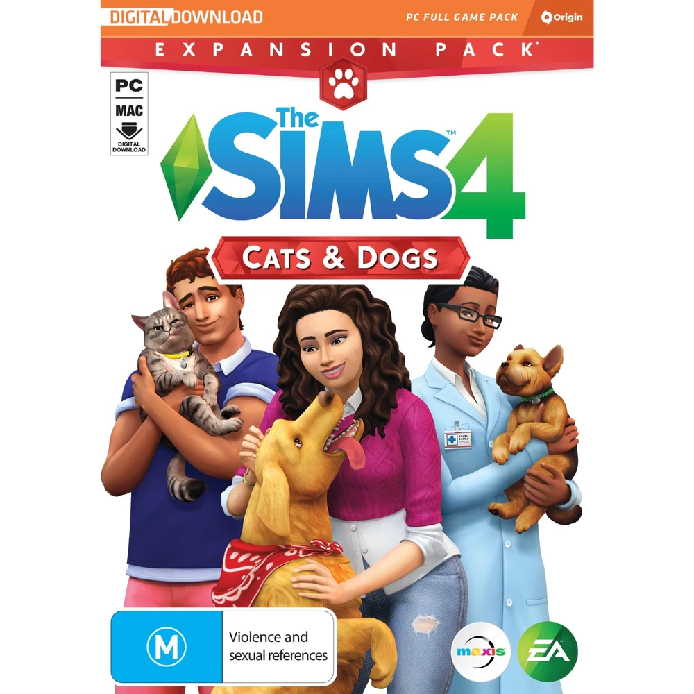 The Sims 4 Cats & Dogs (Expansion Pack) JB HiFi in 2020