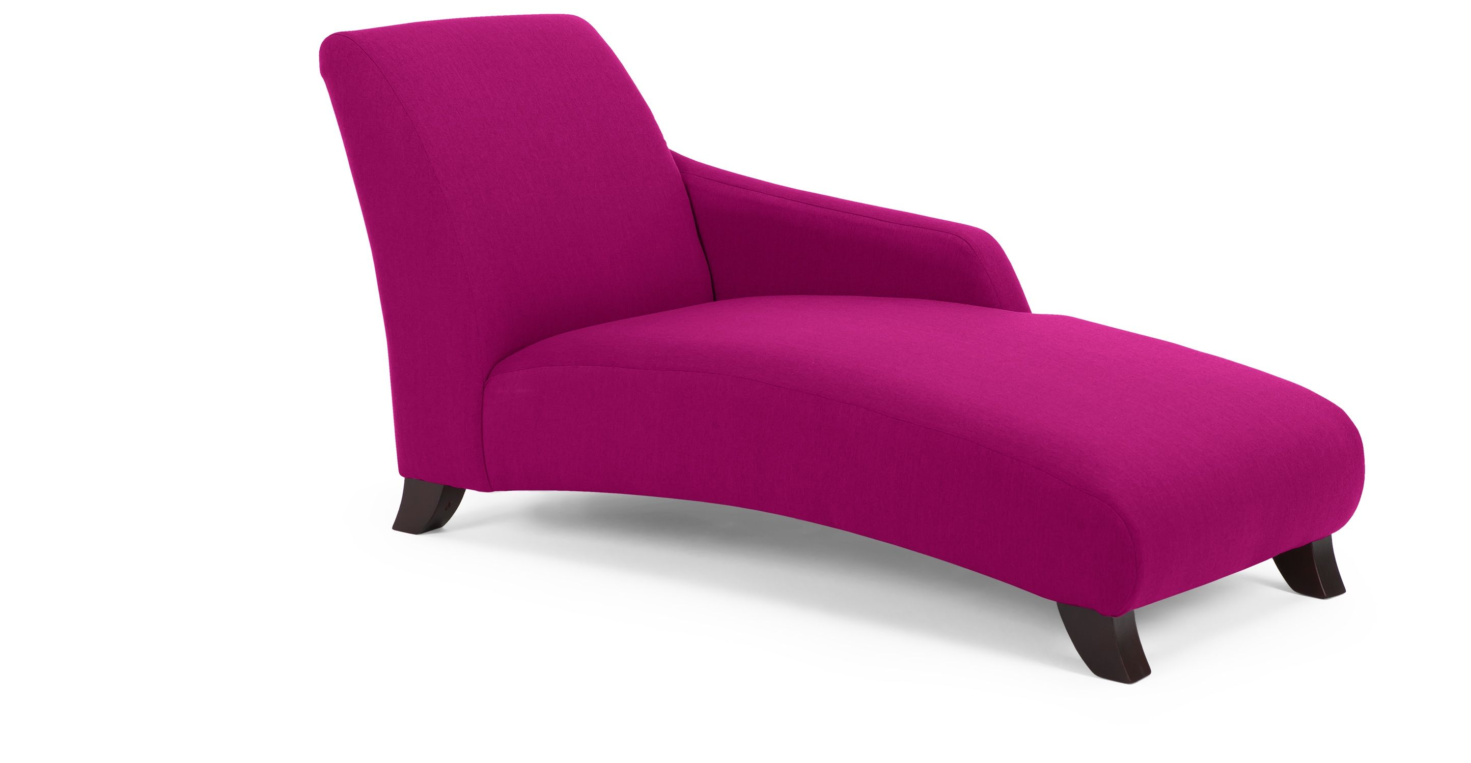 Fauteuil Chesterfield Fushia Panama Right Hand Facing Chaise In Fuschia Pink Made