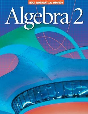 Algebra 2 mathematics textbook