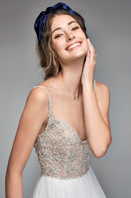 Willowby 50702 Nova Beaded Bodice Wedding Dress #tüllstoff
