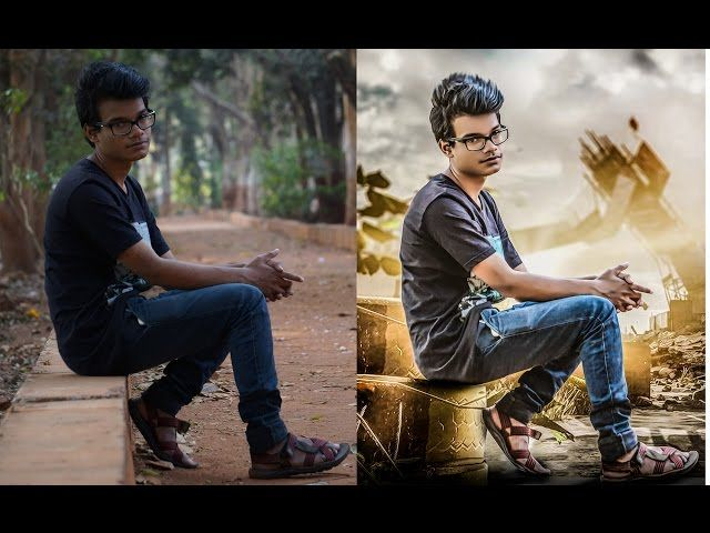 How To Change Photo Background In Photoshop Photoshop 7 Software Photoshop
