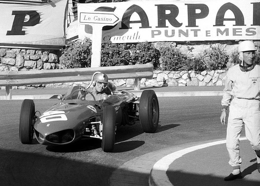 Monaco 1961 Von Trips And Moss Classic Racing Cars Monaco Grand Prix Classic Racing