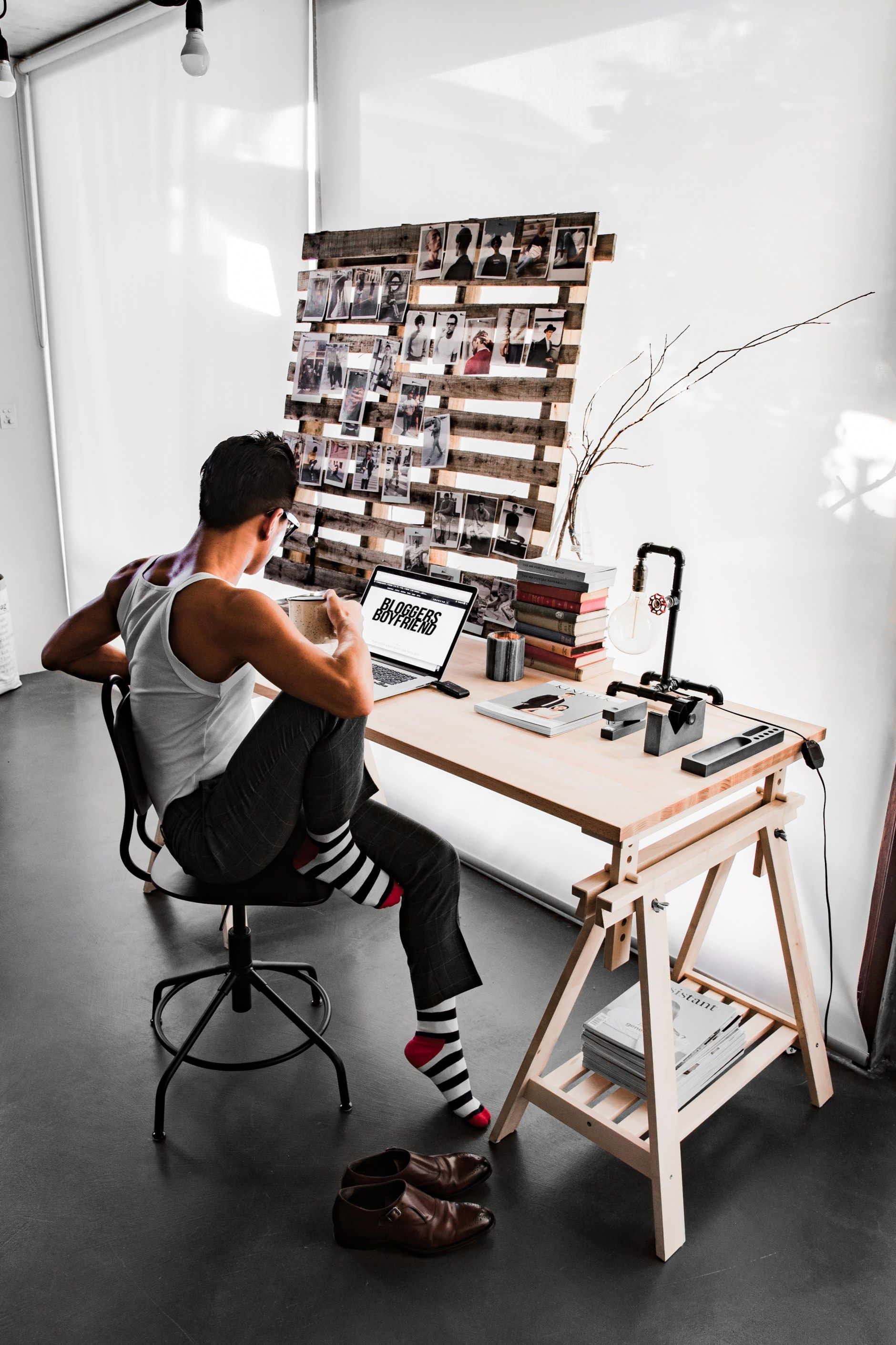 ce042b073 http   instagram.com Bloggers boyfriend Industrial warehouse Interior  studio blogger Ikea Australia