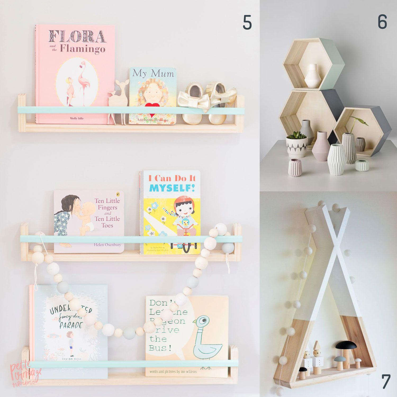 Etagere Pour Chambre Enfant 4 idées d'étagères pour chambre d'enfant | deco, home decor
