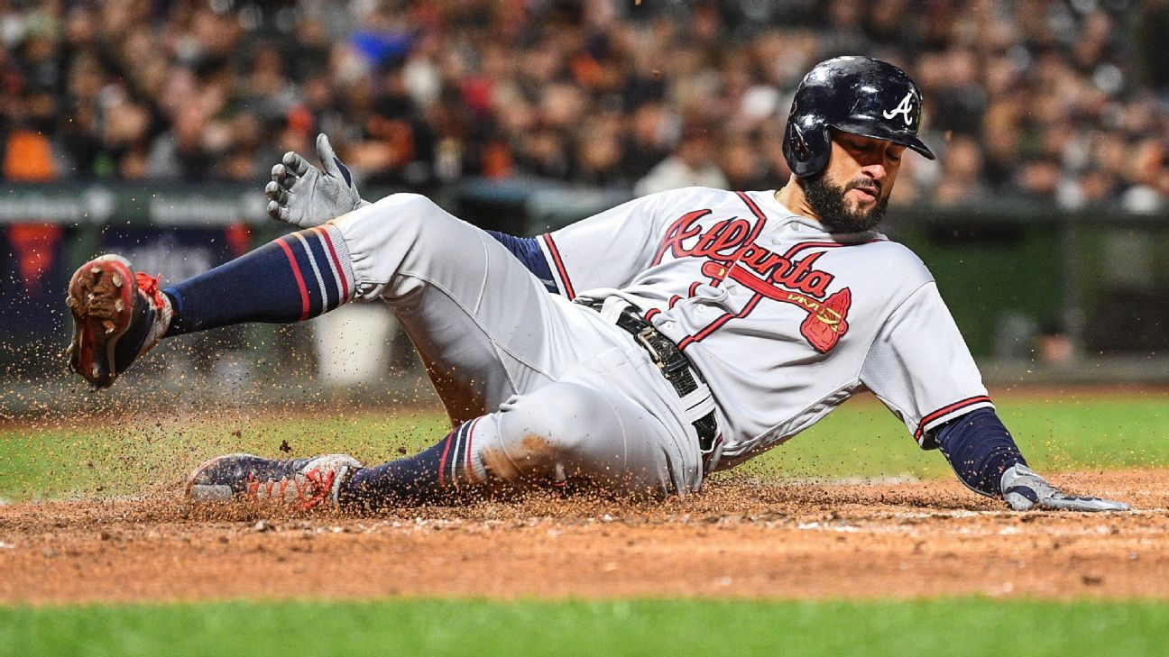 Nick Markakis Returning To Braves With One Year Deal Nick Markakis Braves The Outfield