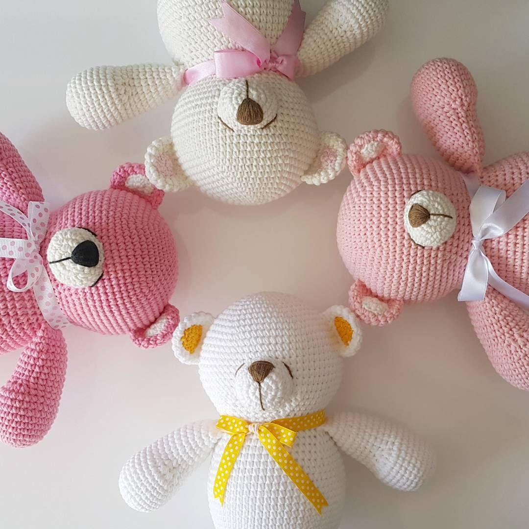 Ositos tiernos | animalitos a crochet | Pinterest | Patrones ...