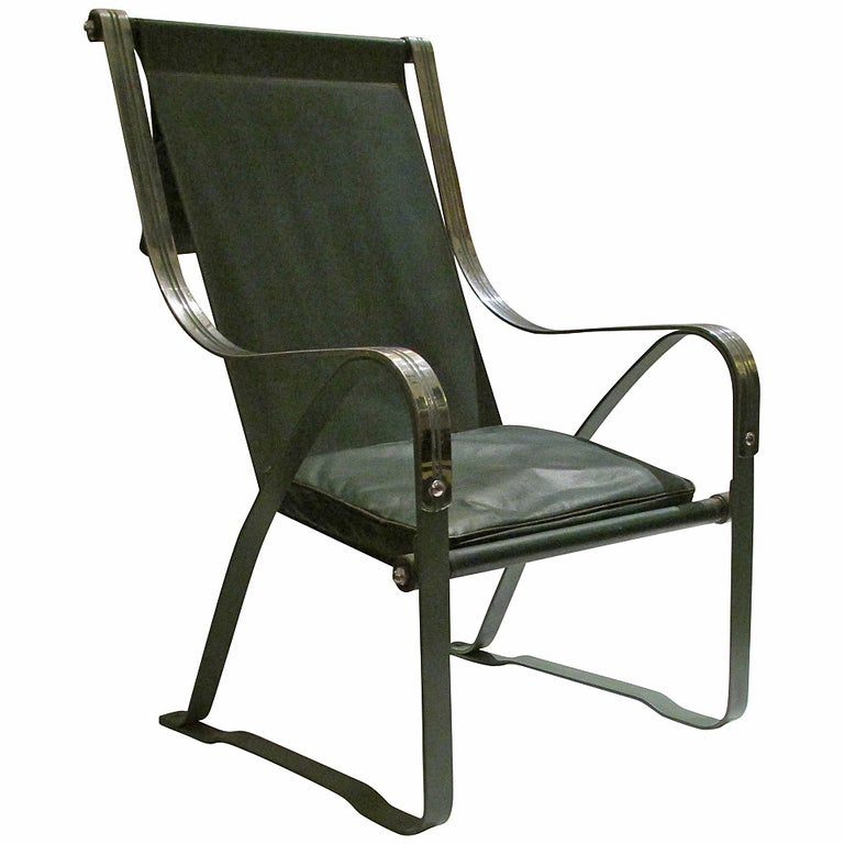 Machine Age Sling Chair By Mckay Craft Chair Art Deco Chair