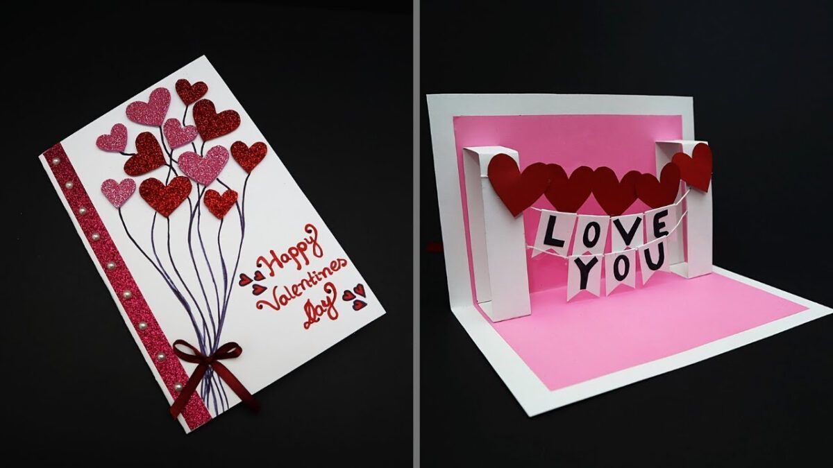 Diy Valentine Card Handmade I Love You Pop Up Card For Valentine S Day Anniversary Card With R Pop Up Card Templates Diy Valentines Cards Valentines Cards