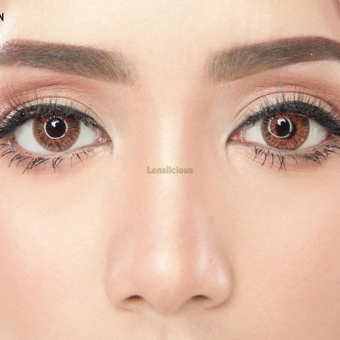 Ade brown circle lenses brown contact lenses contact