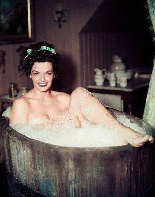 vintage actresses nude in bathtub