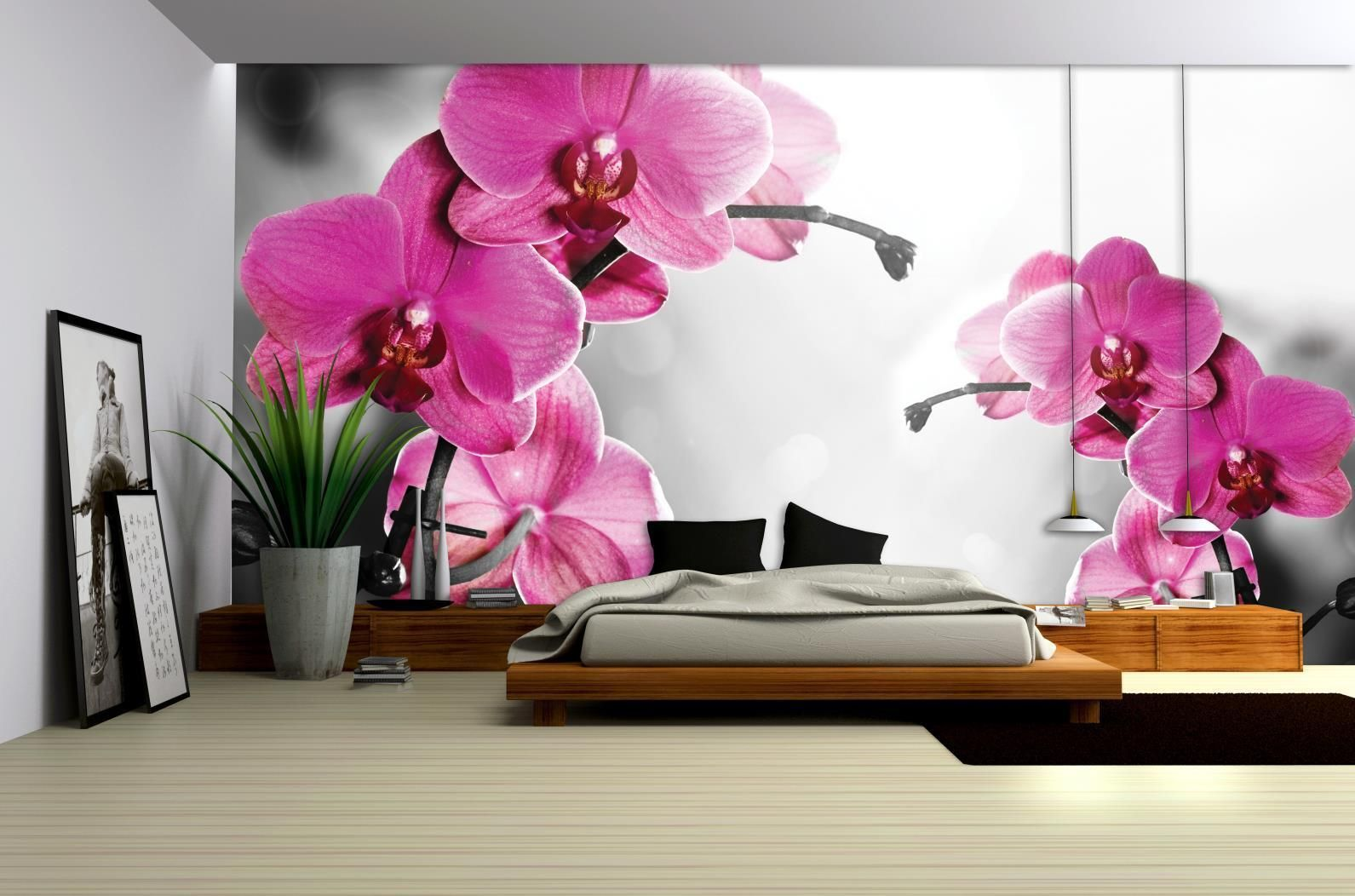 Vlies Fototapete Fototapeten Tapete Tapeten Poster Orchideen Blüten 3fx1034ve Eur 1 00 Kostenlos Dinning Room Decor Bed Furniture Design 3d Wallpaper Decor