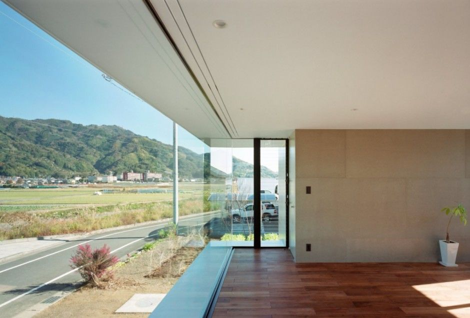 mA-style Architects have designed the Outotunoie House in Fujieda, Shizuoka Prefecture, Japan.