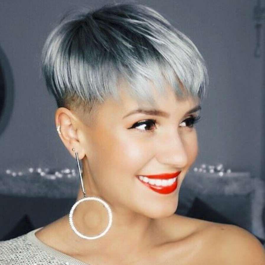 Short Hairstyle 2018 67 Short hair styles, Short grey