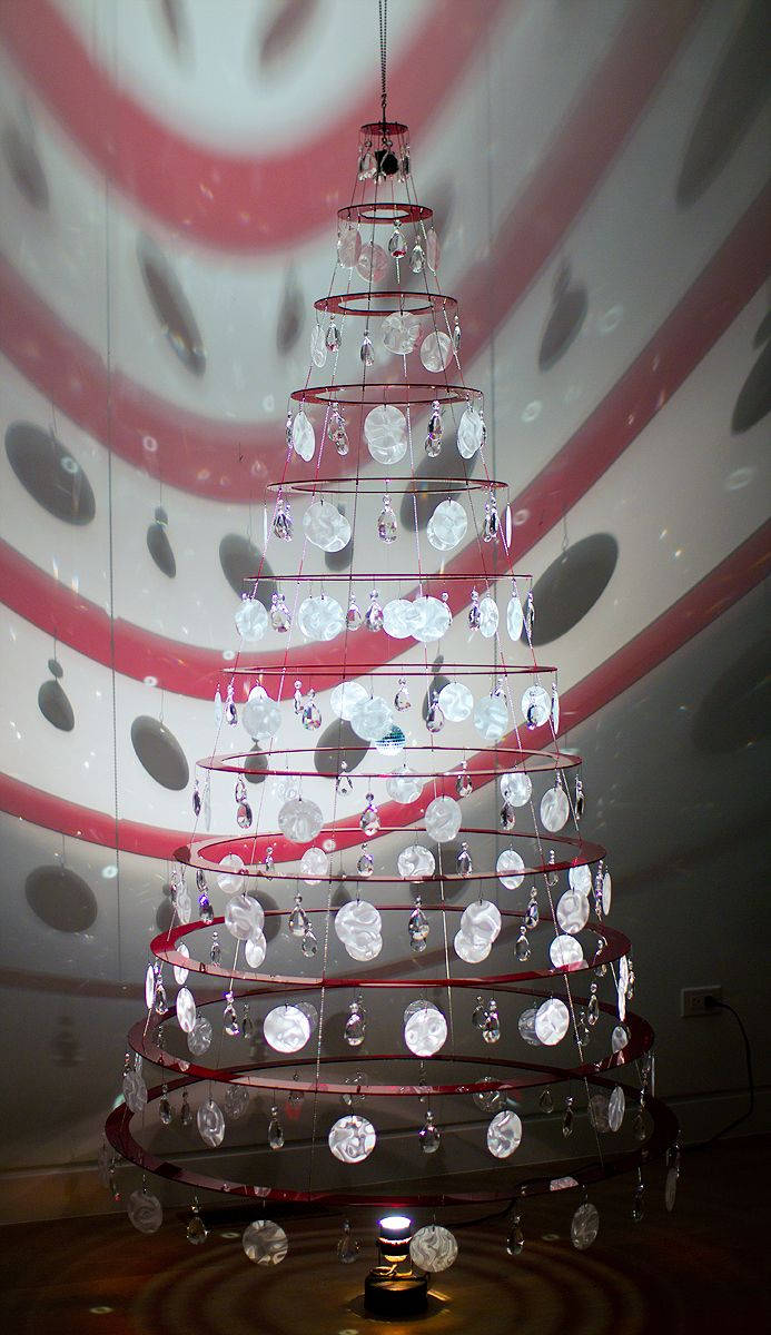 Mid Century Modern Christmas Tree Created In The 1960s By Architect Lawrence Stoecker Modern Christmas Modern Christmas Tree Different Christmas Trees