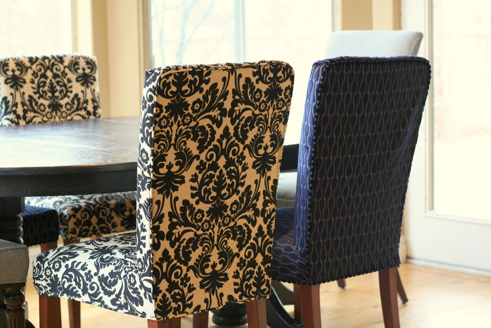 Painting of Perfect Parsons Chairs Target Dining room