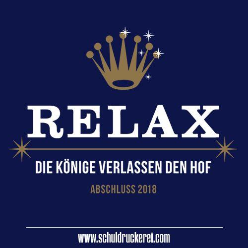 Relax Just Do It Ak18 Abschlussshirts Abschlusspullis