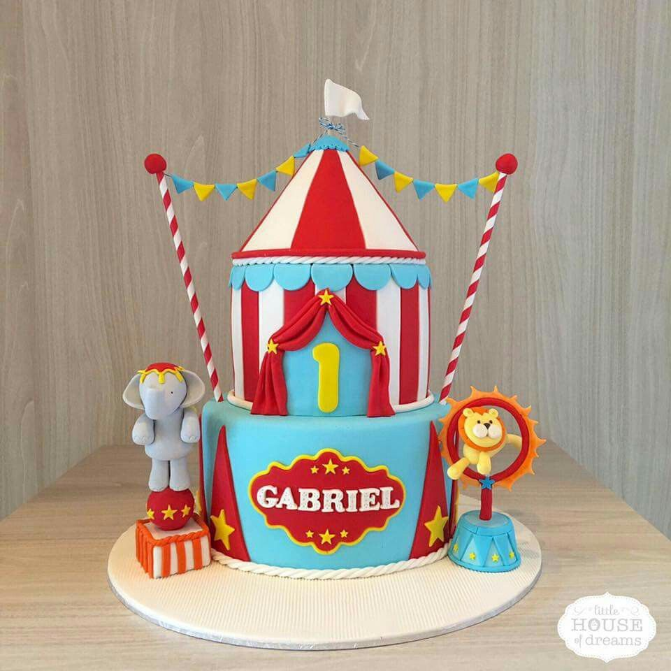 circus birthday cake the ultimate carnival birthday. Black Bedroom Furniture Sets. Home Design Ideas