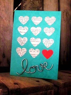 Carte Love | Carte fête des mères, Carte saint valentin et ...