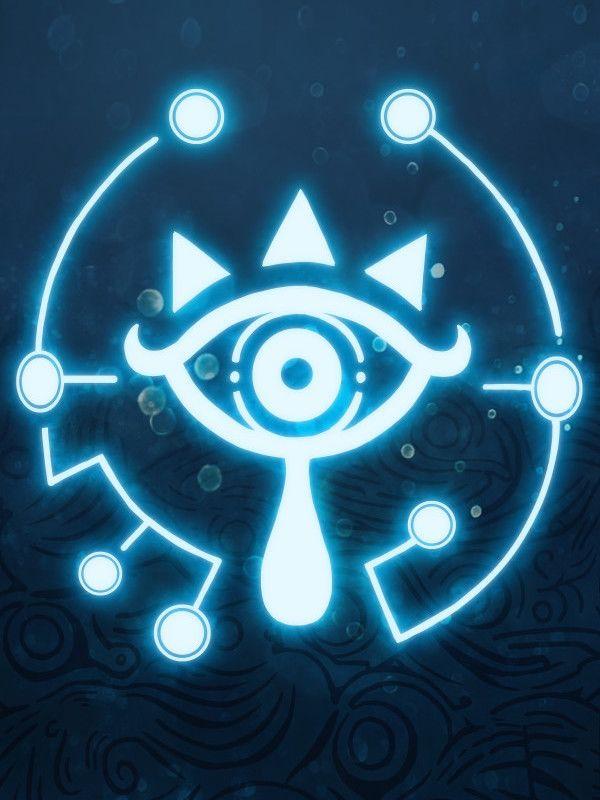 The Blue Eye Tribe Metal Poster Print Mcashe Art Displate Legend Of Zelda Tattoos Zelda Tattoo Legend Of Zelda Breath