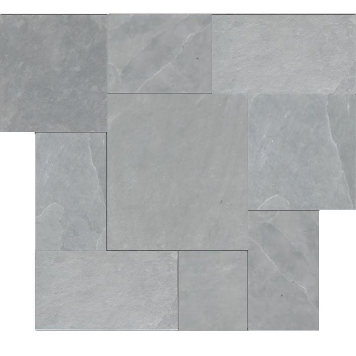 Brazilian Gray Montauk Blue Cleft Slate Pattern Tile In 2018