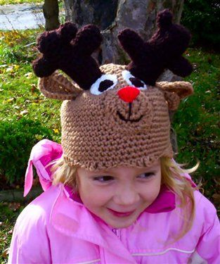 I think I can turn this reindeer in to a deer for my son!