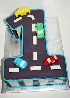 Brilliant Car First Birthday Cake Boy Birthday Cake Boys 1St Birthday Funny Birthday Cards Online Hendilapandamsfinfo