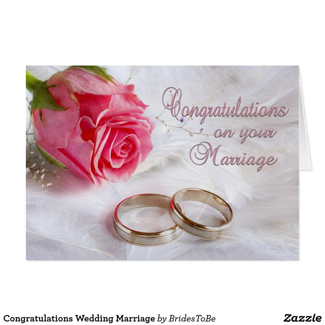 Congratulations Wedding Marriage Card Marriage Cards Wedding