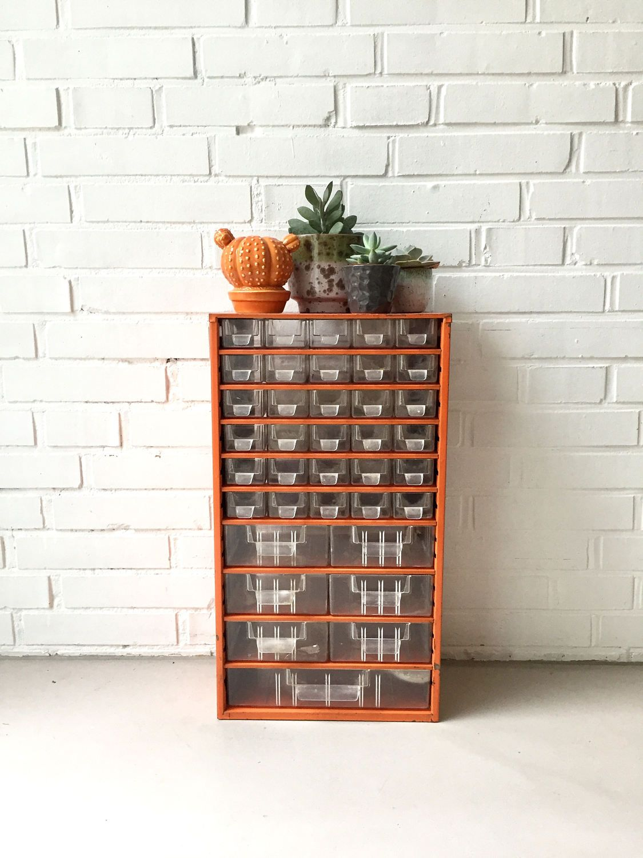 Vintage industrial Cabinet, tool box, screws, industrial furniture ...