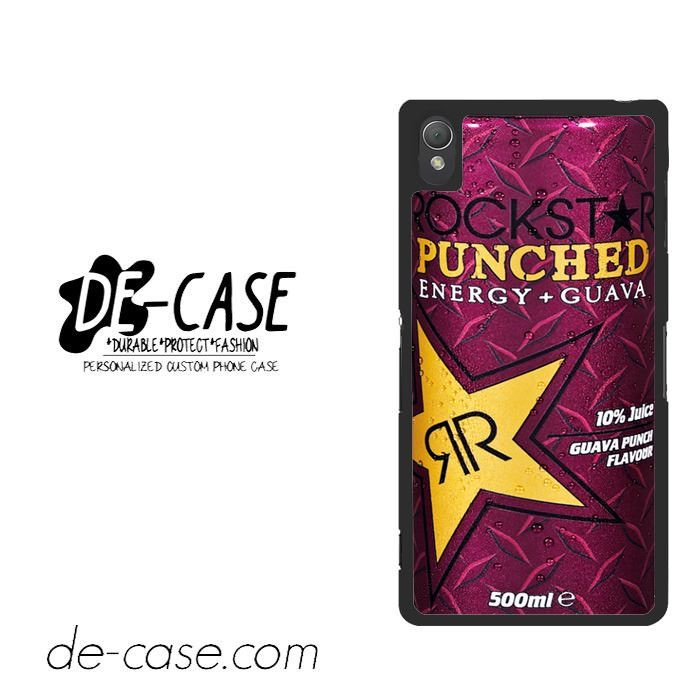 Rockstar Energy Drink Guava Punched For Sony Xperia Z3 Case Phone Case Gift Present YO